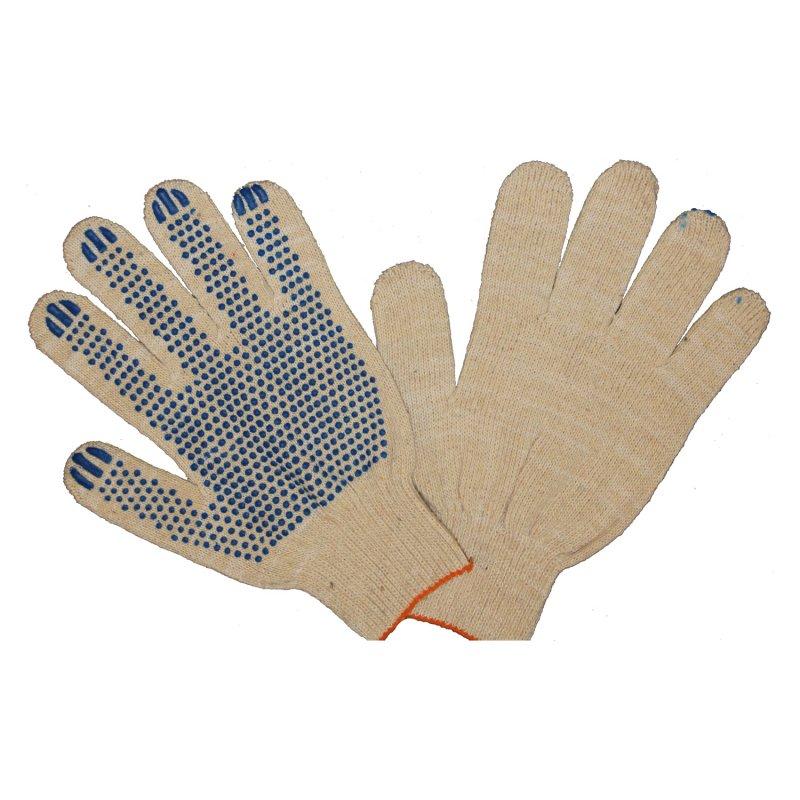 Увеличить - Перчатки трикотажные 4-х нитка с ПВХ напылением